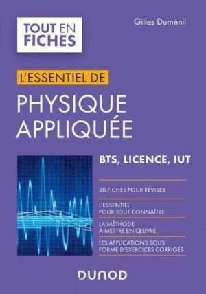 Physique appliquée - Dunod - 9782100813322 -