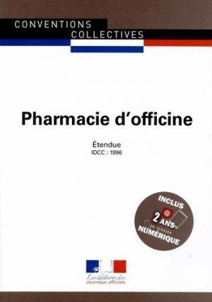 Pharmacie d'officine - journaux officiels - 9782110770301 -