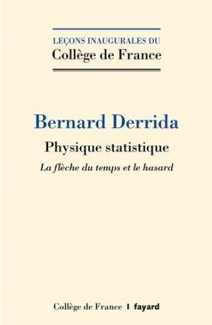 Physique statistique - fayard - 9782213701257 -