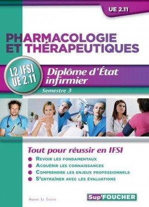 Pharmacologie et thérapeutiques - foucher - 9782216121373 -
