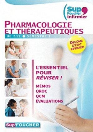 Pharmacologie et thérapeutiques - foucher - 9782216121397 -