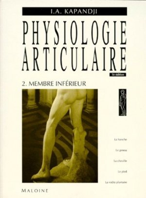 Physiologie articulaire 2  - maloine - 9782224010522 -