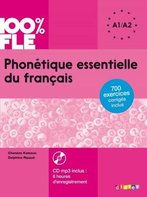 Phonétique Essentielle du Français - didier - 9782278083398 -