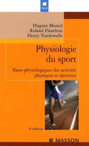 Physiologie du sport - elsevier / masson - 9782294702488 -