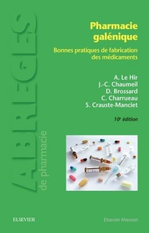 Pharmacie galénique-elsevier / masson-9782294743955