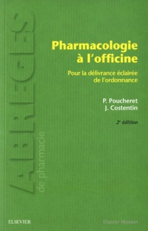 Pharmacologie à l'officine-elsevier / masson-9782294750397
