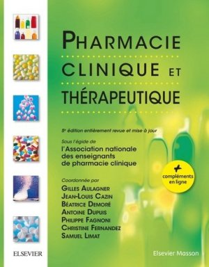 Pharmacie clinique et thérapeutique - elsevier / masson - 9782294750779 -