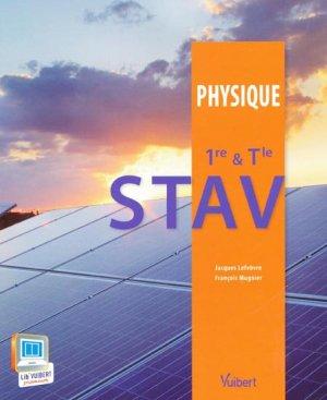 Physique STAV 1ère et terminale - vuibert - 9782311008708 -
