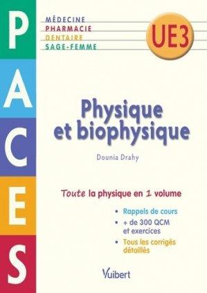 Physique et Biophysique - vuibert - 9782311400007 -