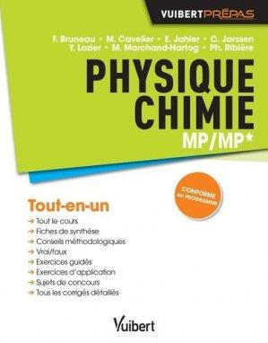 Physique-Chimie MP/MP* - vuibert - 9782311400304 -