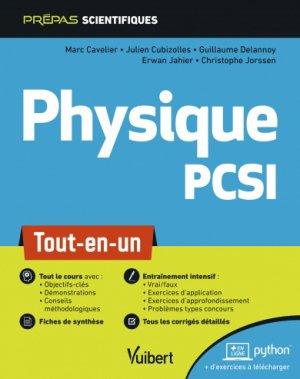 Physique PCSI - vuibert - 9782311406740