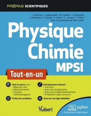 Physique-chimie MPSI - vuibert - 9782311406863 -