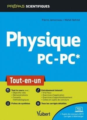 Physique PC/PC - vuibert - 9782311407181 -