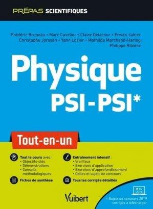 Physique PSI/PSI - vuibert - 9782311407235 -