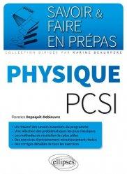 Physique PCSI - ellipses - 9782340006546 -