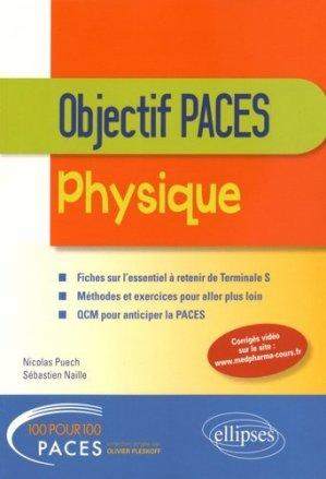 Physique - Tle S - Objectif PACES - ellipses - 9782340007451 -
