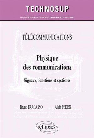 Physique des communications - ellipses - 9782340007772 -