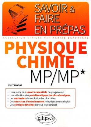 Physique chimie MP/MP* - ellipses - 9782340010581