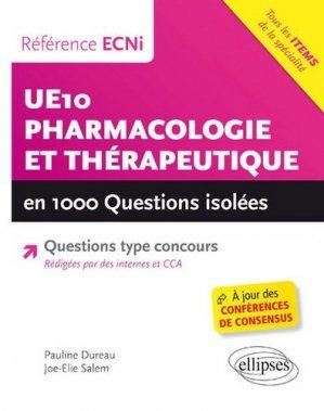 Pharmacologie et Thérapeutique - ellipses - 9782340012097 -
