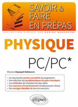 Physique PC/PC - ellipses - 9782340015517 -