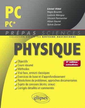 Physique PC - PC*-ellipses-9782340016958