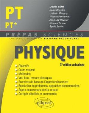 Physique PT - PT*-ellipses-9782340016972