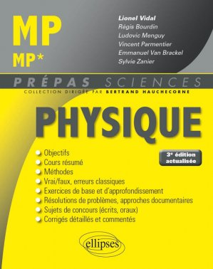 Physique MP - MP* - ellipses - 9782340023963 -