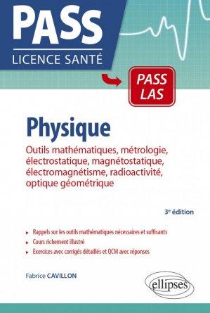 Physique - ellipses - 9782340029439 -