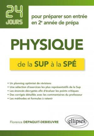 Physique de la Sup à la Spé - ellipses - 9782340030923 -