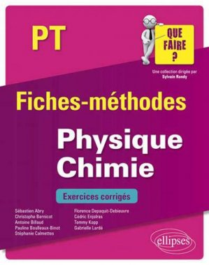 Physique-Chimie PT - ellipses - 9782340033245