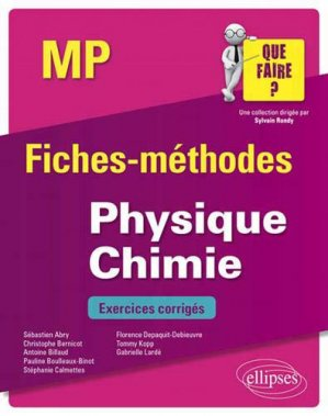 Physique-Chimie MP - ellipses - 9782340033252