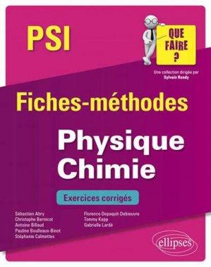 Physique-Chimie PSI - ellipses - 9782340033269 -
