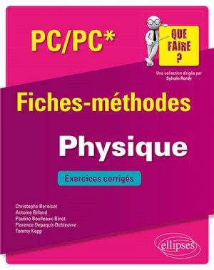 Physique PC - ellipses - 9782340033276