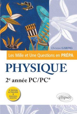 Physique 2e année PC/PC* - ellipses - 9782340033511 -