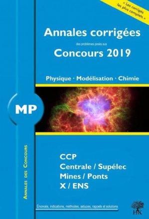 Physique - Modélisation - Chimie MP - handk - 9782351413623