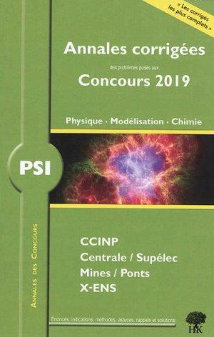 Physique - Modélisation - Chimie PSI - handk - 9782351413661