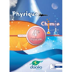 Physique chimie 4e agricole, cycle 4 - doceo - 9782354972004 -