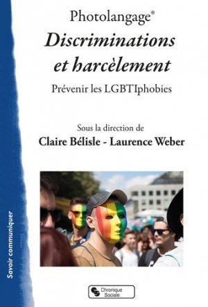Photolangage, discrimination et harcèlement - Chronique Sociale - 9782367176017 -
