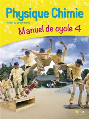 Physique Chimie cycle 4 - Belin - 9782410010411 -