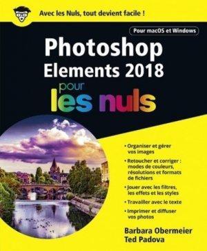 photoshop elements 2018 pour les nuls-first-9782412034330