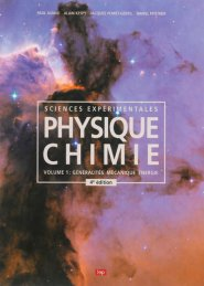 Physique-chimie Volume 1 Généralités-mécanique-énergie - lep - loisirs et pedagogie (suisse) - 9782606013417 -