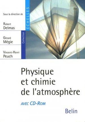 Physique et chimie de l'atmosphère - belin - 9782701137001 -