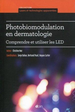 Photobiomodulation en dermatologie - doin - 9782704014163 -