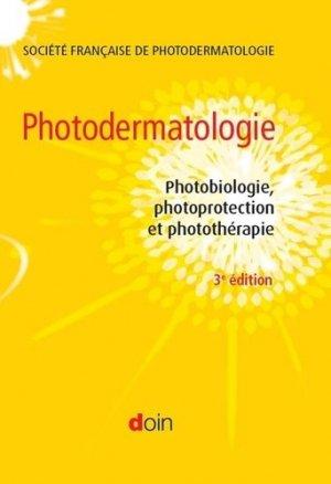 Photodermatologie - arnette - 9782704015634 -