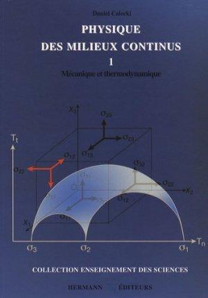 Physique des milieux continus - hermann - 9782705665401 -