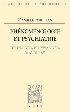 Phénoménologie et psychiatrie - vrin - 9782711628100 -