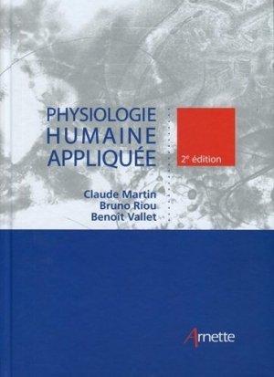 Physiologie humaine appliquée - arnette - 9782718414218 -