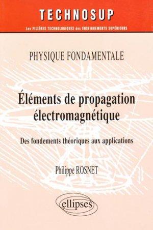 Éléments de propagation électromagnétique - ellipses - 9782729811105 -