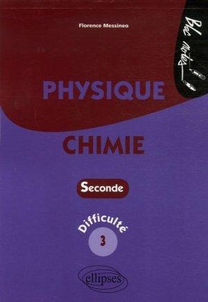 Physique-Chimie 2e - Ellipses - 9782729829247 -