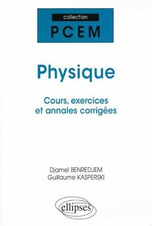 Physique - ellipses - 9782729840655 -